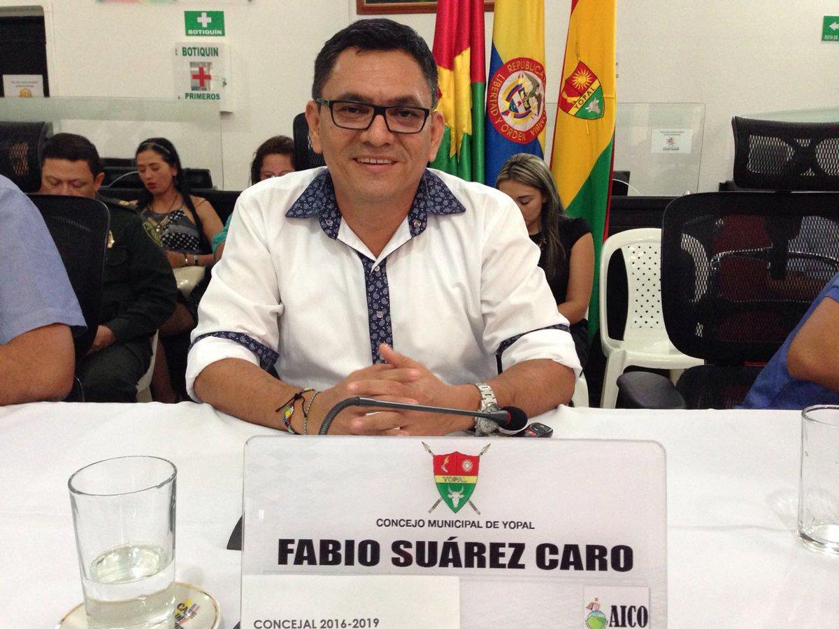 """#EnAudio """"Preocupa el afán de la administración de obtener recursos del OCAD justo en esta epoca"""" Concejal Fabio Suarez"""