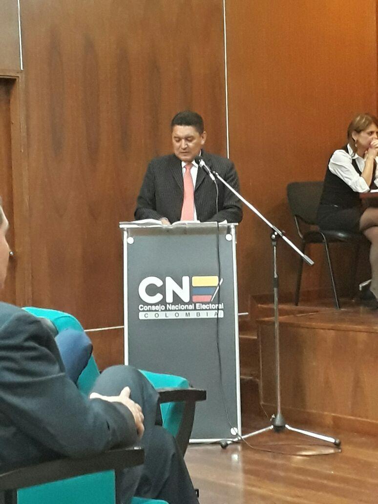 Carlos Cárdenas sigue siendo candidato a elecciones en Yopal