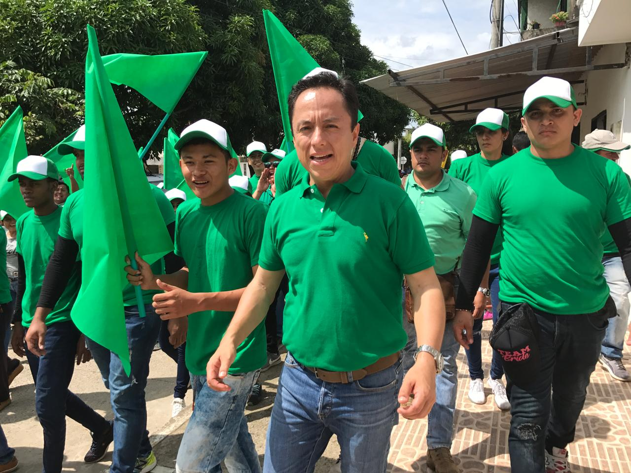 Leonardo Puentes del Partido Verde, nuevo alcalde de Yopal