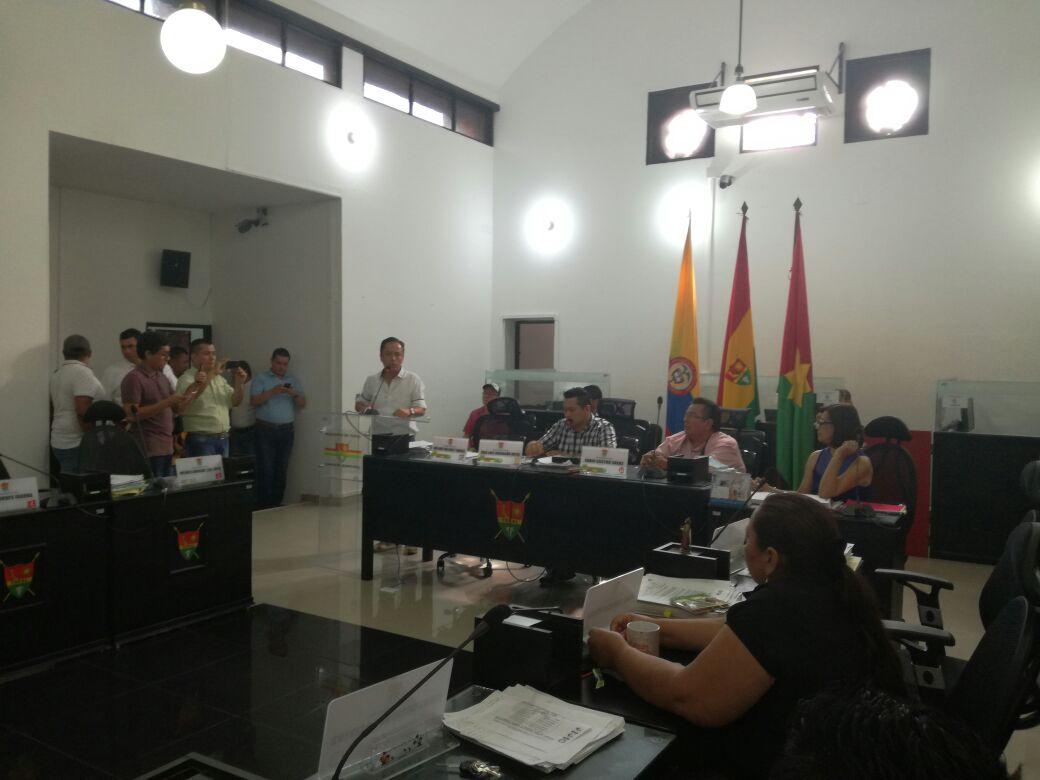 """Leonardo Puentes """"volvió"""" al Concejo Municipal pero ahora como Alcalde de Yopal"""
