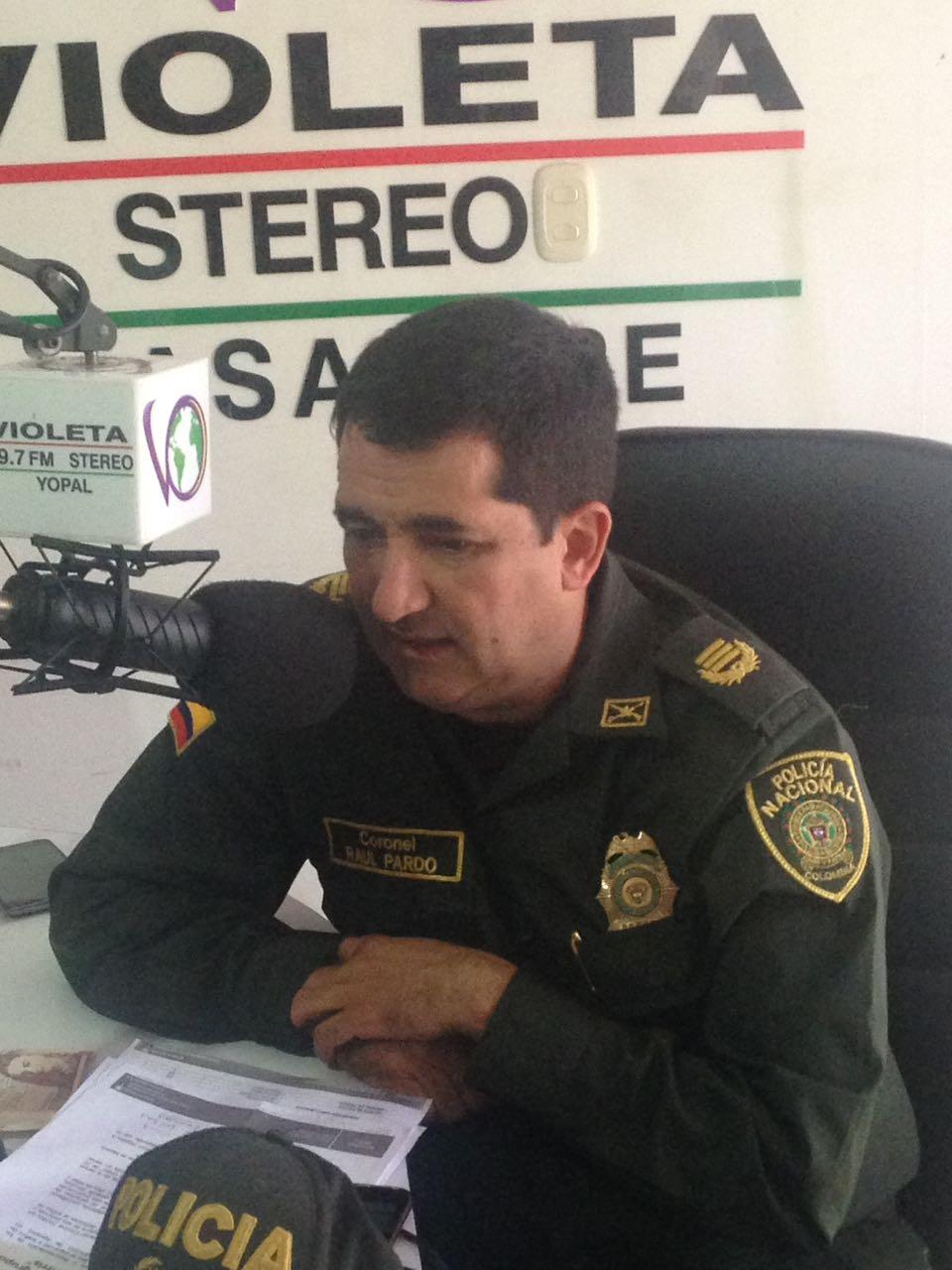#EnAudio Coronel Raúl Pardo entrega balance sobre labor policial en la jornada electoral