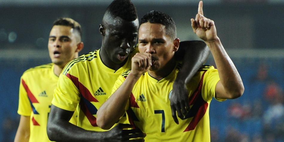 Colombia goleó 4-0 a China en su último partido del año