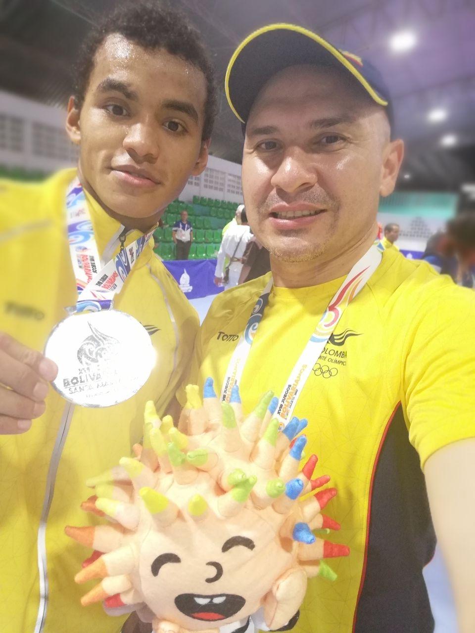 #EnAudio Medalla de plata para Casanare en los Juegos Bolivarianos. Habla Jeferson Ochoa