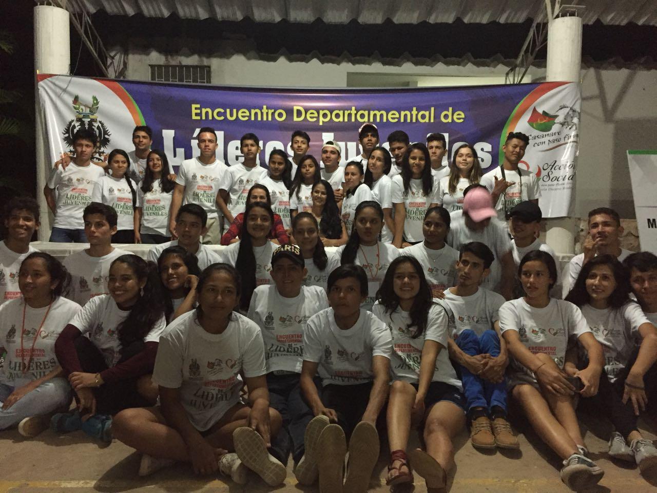65 jóvenes de Casanare participaron durante tres días del gran encuentro de líderes