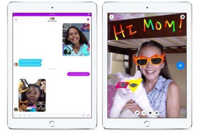 Facebook presentó Messenger Kids, un messenger para niños.