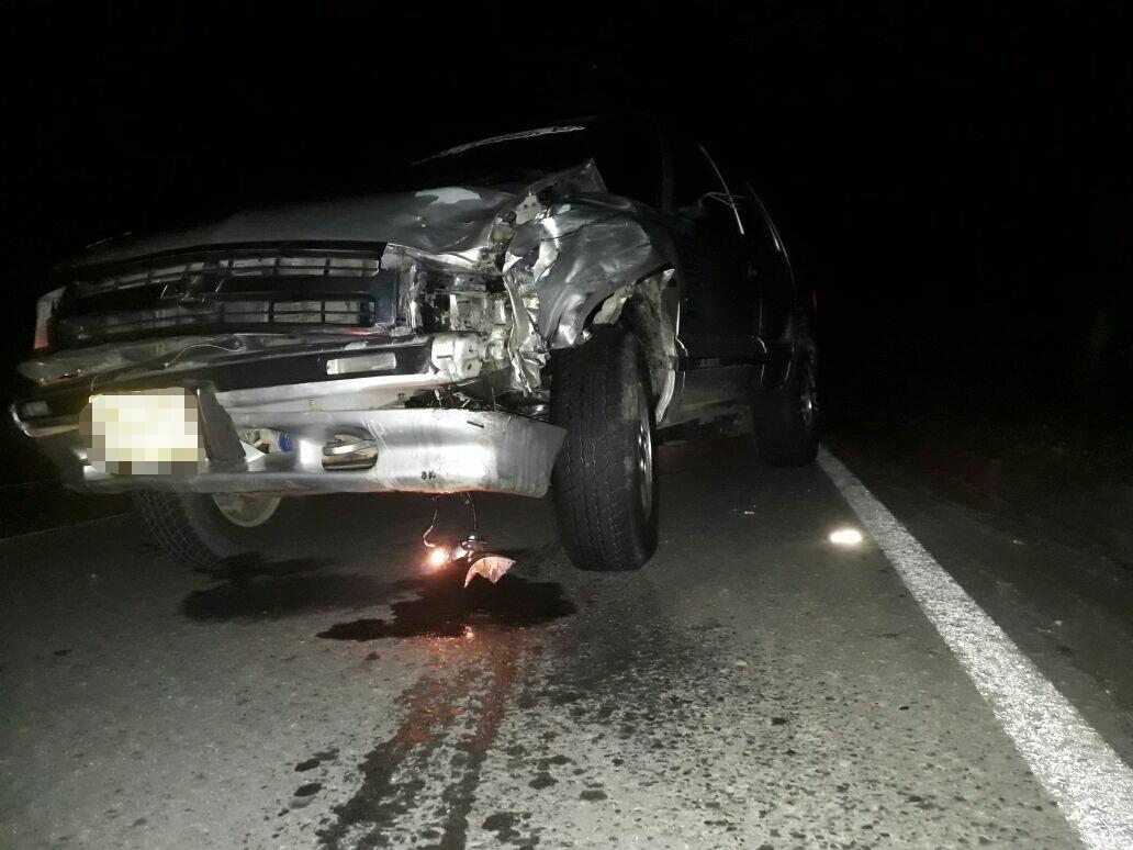 Muere motociclista en choque contra vehículo en sector Las Lajas de Aguazul