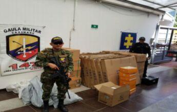 Equipos de energía robados a Enerca fueron recuperados por CTI y Ejército.