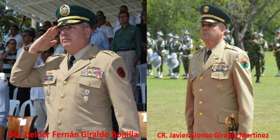 Octava División y Brigada XVI del Ejército Nacional estrenan comandante