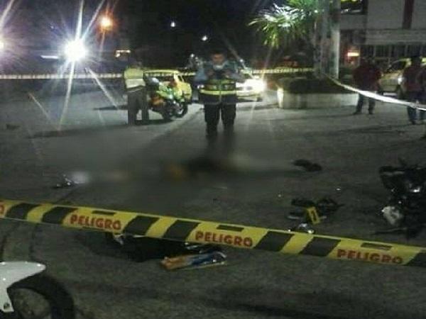 Motociclista falleció en choque contra vehículo compactador de basura