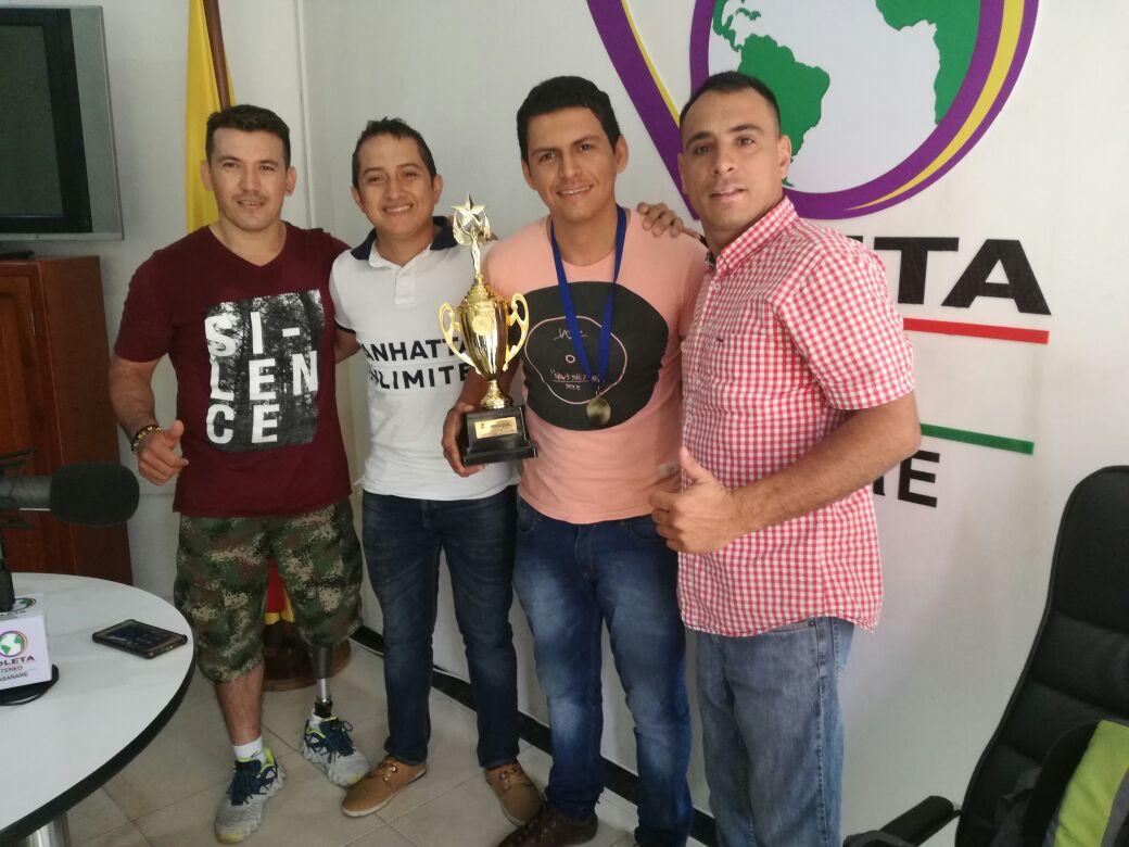 #EnAudio Diego Capacho y Rodrigo Pérez, campeones nacionales de baloncesto en silla de ruedas
