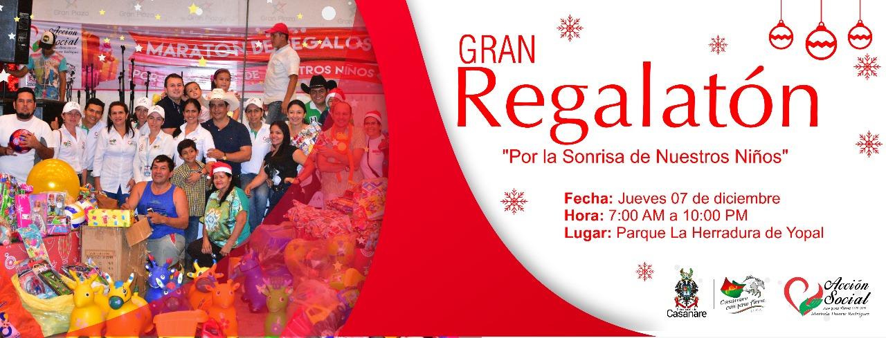 #EnAudio Gobernación de Casanare invita a las gran regalaton