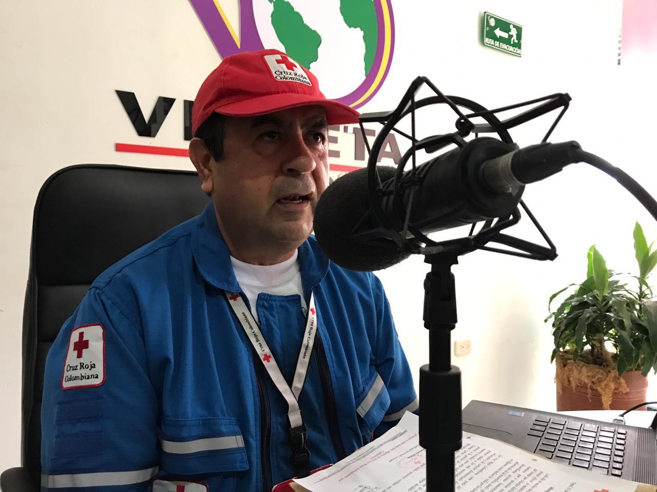 #EnAudio Director Cruz Roja envía saludo de felicitación  a voluntarios en su día