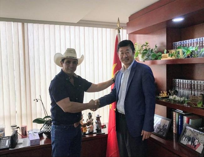Gobernador anunció visita del embajador de China a Casanare.