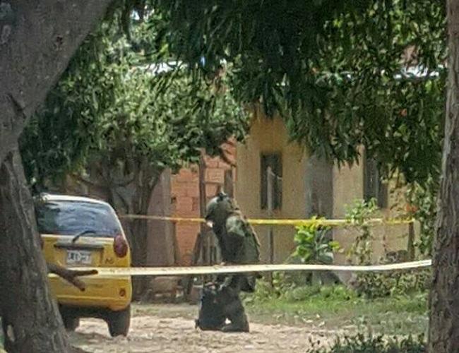 Taxi robado en Arauca fue abandonado luego en Hato Corozal.
