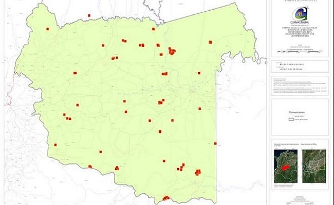 Cerca de 380 focos de calor se registran en el Meta.