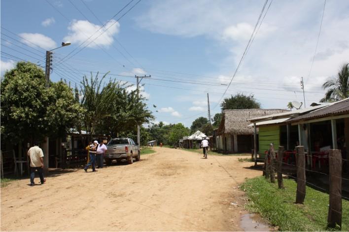 Totumeños piden que se les construya un puesto de policía en el centro poblado.