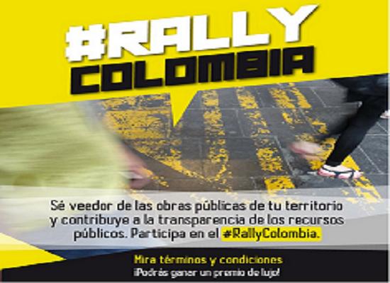 #RallyColombia, busca Veedurías Ciudadanas en todo Colombia.