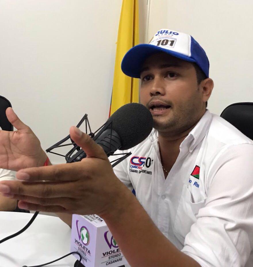 #EnAudio Casanare necesita una voz en el Congreso: Julio Ramos