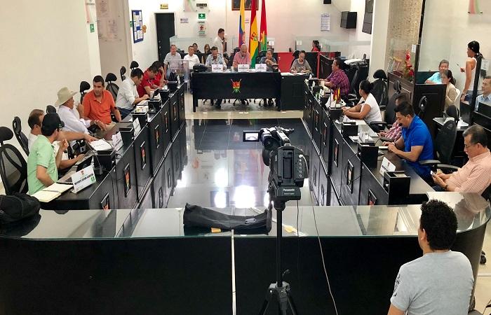 Concejo Municipal exige presentar avance del Plan de Desarrollo 2018-2019.