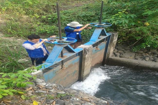 Funcionarios de Corporinoquia restablecieron parte del caudal al río Pauto que estaba siendo desviado.