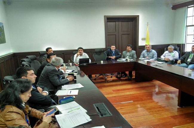 Casanare presenta ante minagricultura e Invima propuestas para plantas de beneficio animal.
