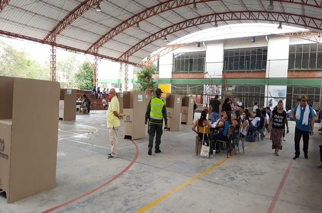 Normalidad reportó Casanare en cierre de elecciones.