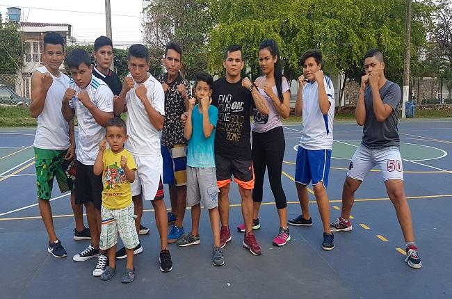 Escuela de Formación en Boxeo para la juventud de Yopal.