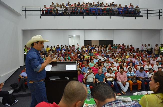 Ante la comunidad se socializó proyecto de construcción de subsede del Sena en Paz de Ariporo.