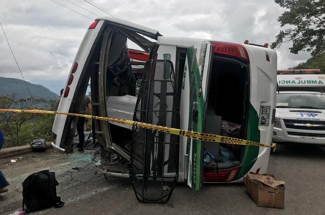 Madre e hija que venían a visitar a su esposo y padre en Yopal, las víctimas mortales del accidente en la vía del Cusiana.