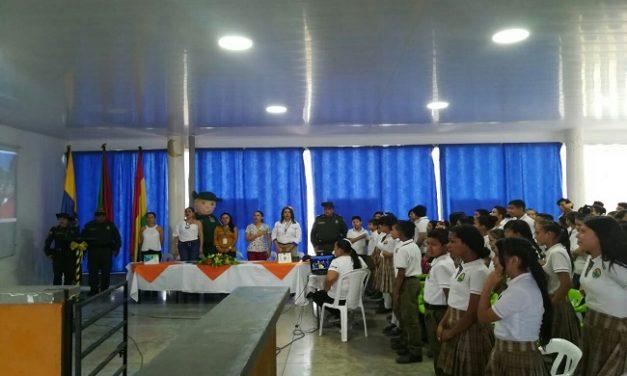 """Policía ambiental Casanare lidera lanzamiento del grupo juvenil """"Amigos de la Naturaleza"""""""