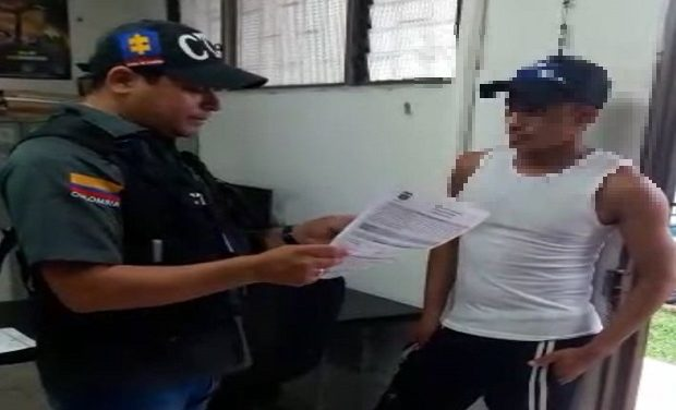 Capturan soldado regular por el delito de acceso carnal abusivo con menor de 14 años.