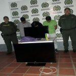 Fueron hasta Aguazul a robar una vivienda y cuando regresaban a Yopal los atraparon.