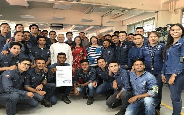 SENA Regional Casanare fue certificada Internacionalmente en hidráulica por BOSCH-REXROTH.
