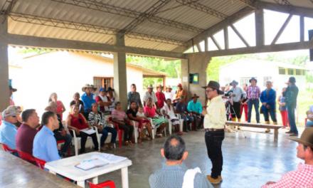 En un mes tendrían energía eléctrica las veredas El Boral, Guasimal, Socorro y Playitas de Paz de Ariporo