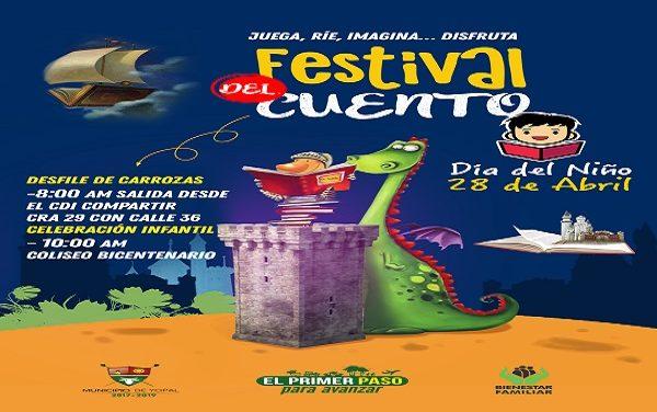 Este 28 de abril, gran celebración del Día del Niño en Yopal.