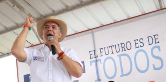 Ivan Duque recorrió Casanare y Meta el pasado sábado, el recorrido inició en Paz de Ariporo