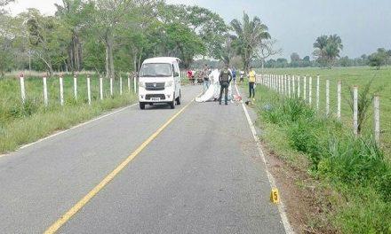 Fallece un hombre en la vereda Picón de Yopal, al perder el control de su motocicleta.