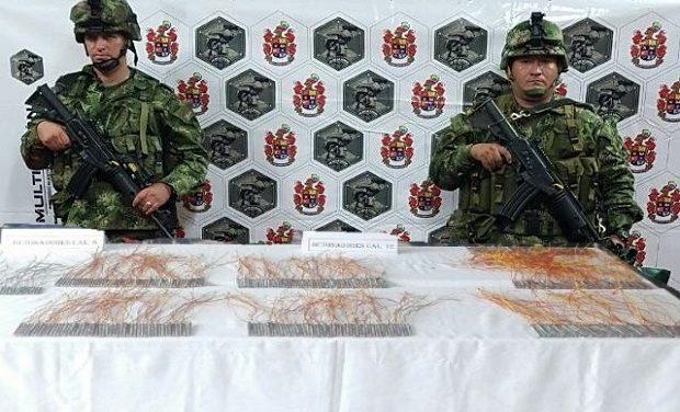 En Casanare, Ejército evitó la elaboración de más de 370 artefactos explosivos.