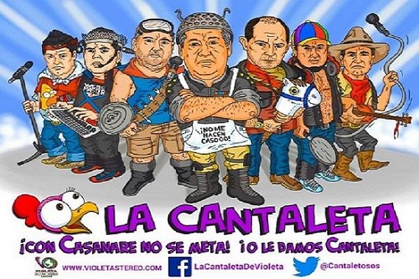 Frank presentó en exclusiva para La Cantaleta la U.T.L de los congresistas casanareños.