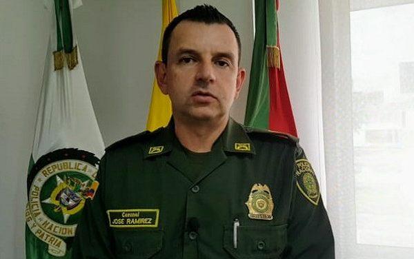 Comandante de policía presenta balance de sus primeros meses en el departamento.