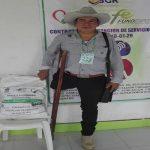 400 familias con personas en discapacidad recibieron paquetes nutricionales y capacitación en manejo de huertas caseras.