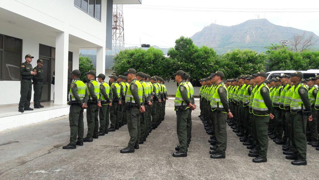 Policía de Casanare avanza en operativos de seguridad para garantizar la tranquilidad durante las elecciones del próximo domingo