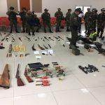 Hasta el viernes culminaría proceso de judicialización de los 22 capturados por concierto para delinquir y porte de armas de fuego.