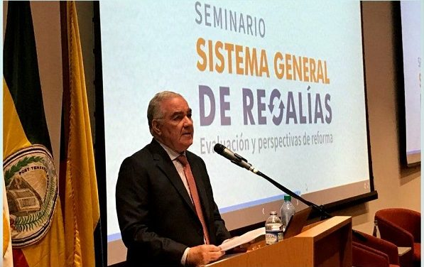 """""""El Sistema general de Regalías se presta para la corrupción razón por la que fracasó"""" Edgardo Maya Villazón, Contralor."""