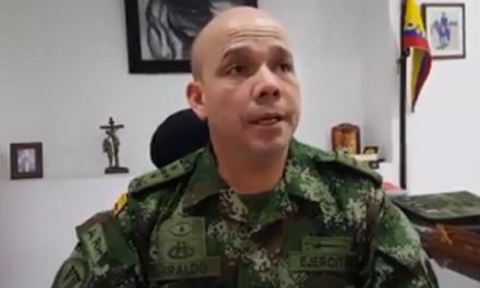 """#EnAudio """"En Casanare tuvimos las elecciones más tranquilas de los últimos años, el parte es de tranquilidad"""": Coronel Javier Giraldo, comandante Brigada 16 del Ejército."""