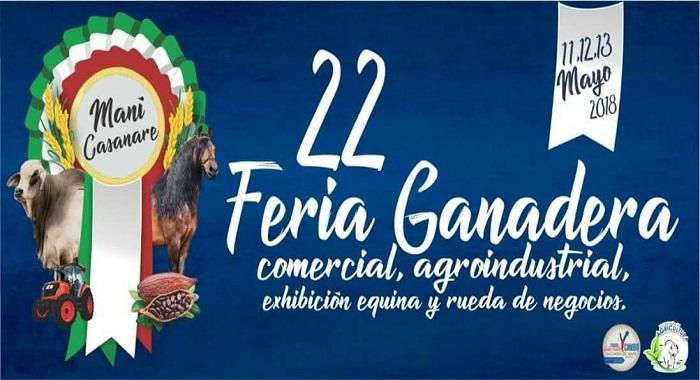 Feria Ganadera este fin de semana en Maní.