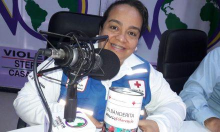 #EnAudio Hoy es el tradicional Día de la Banderita de la Cruz Roja Colombiana. Adicional al depósito de dinero en los llamativos tarritos el domingo será la Primera Travesía Humanitaria en bicicleta.