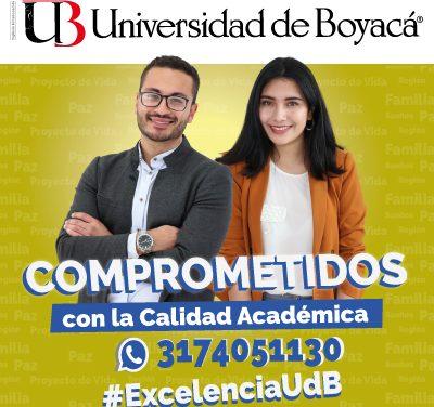 Universidad de Boyacá, comprometida con la educación y el desarrollo del oriente colombiano
