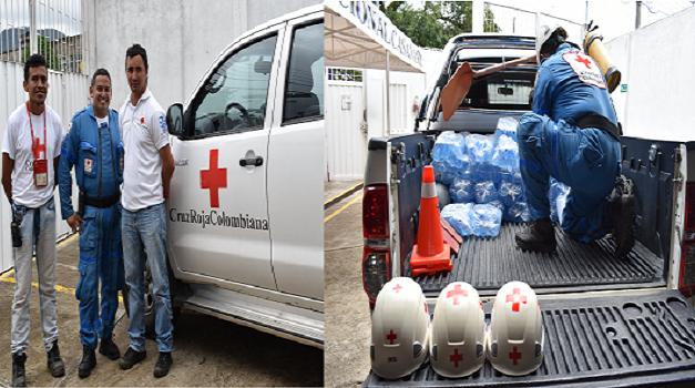 Cruz Roja Seccional Casanare apoya emergencia en Villanueva.