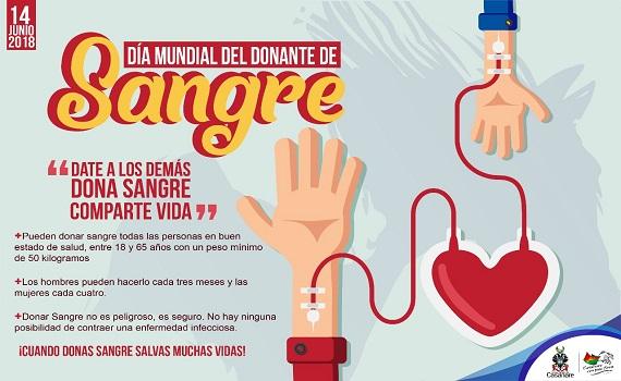 14 de junio: Día Mundial del Donante de Sangre.